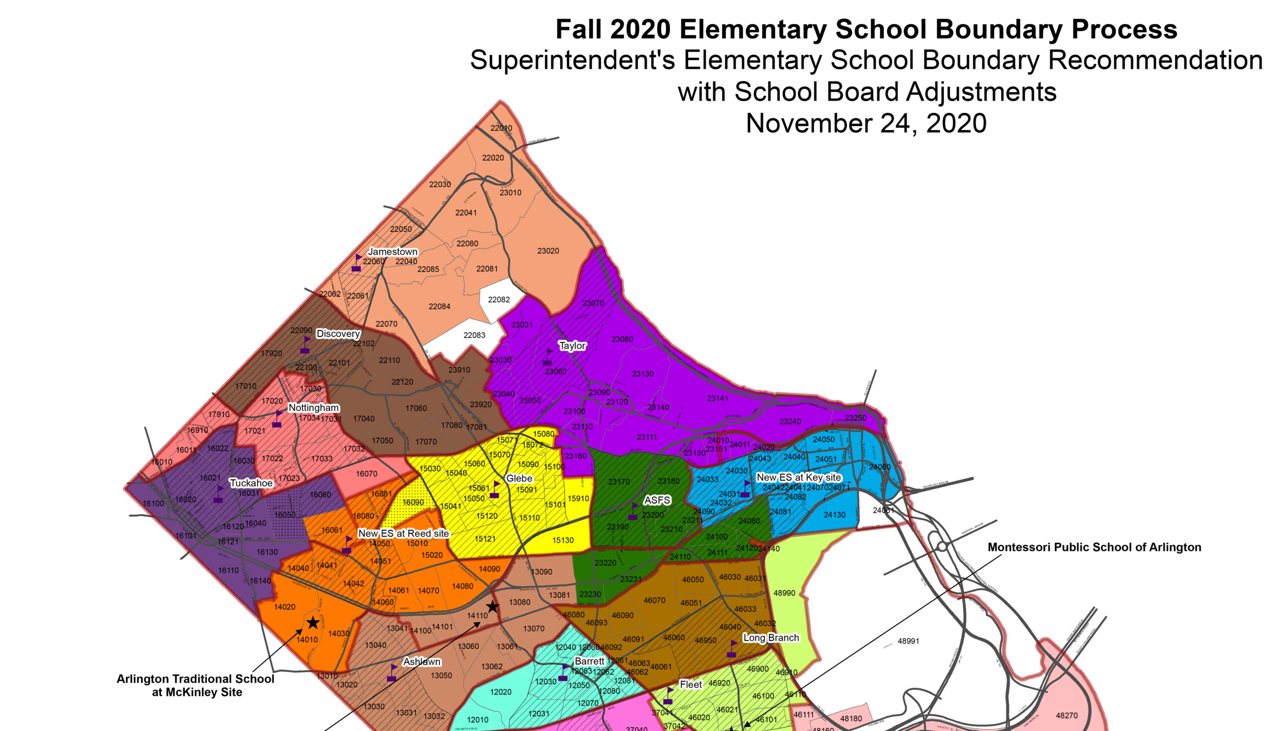 School Board Approves New Elementary Boundaries for 2021-22